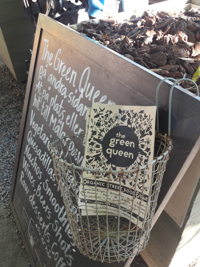 The green queen flyer