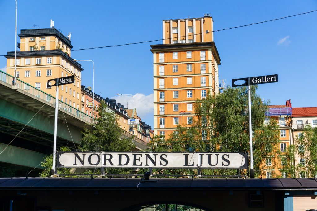 Picture of Nordens Ljus in Stockholm